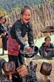 Burma,Earring,Eng,Shan State,Teeth,Washing Up