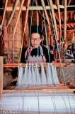 Breastpiece,China,Dai,Frame Loom,Hat,Weaving,Yunnan