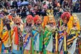 China,Festival,Mask,Monk,Sichuan,Tibetan