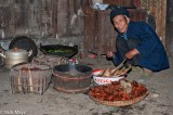 China,Container,Fish,Guizhou,Miao,Priest,Turban,Wedding