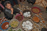 China,Guizhou,Miao,Preparing,Vegetable,Wedding