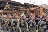 China,Circling,Dong,Festival,Guizhou