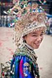 China,Dong,Festival,Guizhou,Headdress,Necklace
