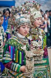 Breastpiece,China,Dong,Festival,Guizhou,Headdress,Necklace