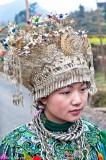 China,Dong,Guizhou,Headdress,Necklace,Wedding