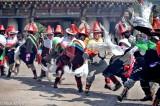 China,Dancing,Festival,Hat,Kata,Qinghai,Tibetan