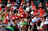 China,Festival,Hat,Procession,Qinghai,Tibetan