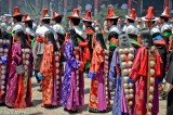 China,Festival,Hair Piece,Procession,Qinghai,Tibetan