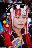 China,Festival,Headdress,Lisu,Yunnan
