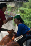 Gelao, Ha Giang, Market, Selling, Vietnam