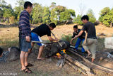 Arunachal Pradesh, Festival, Hearth, India, Mishmi, Preparing