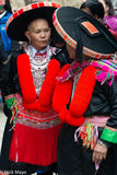 Dao Women Chatting At Market