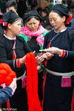 Cao Bang, Market, San Chay, Shopping, Vietnam, Yarn
