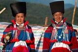 Two Women Enjoying The Festival