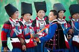 Burma, Dancing, Festival, Lisu, Lute, Mandalay Division