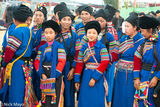 Village Group Attending The Festival