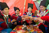 Burma, Drinking, Festival, Lisu, Mandalay Division, Whisky