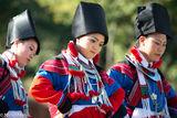 Burma, Dancing, Festival, Lisu, Mandalay Division