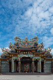 New Temple Below Clouds