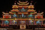 Temporary Facade For Temple Festival