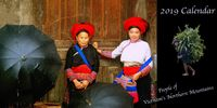 2019 Calendar : People of North Vietnam's Mountains