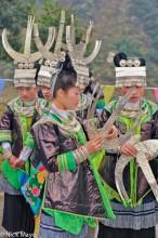 Bracelet,China,Festival,Guizhou,Hair,Headdress,Miao