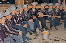 China,Dong,Festival,Guizhou,Singing,Stringed Instrument,Turban