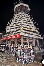 China,Dong,Drum Tower,Festival,Guizhou,Hair,Hair Piece,Leggings