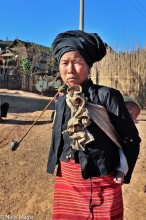 Bulang,China,Pipe,Smoking,Yunnan