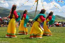 China,Dancing,Festival,Sichuan,Tibetan