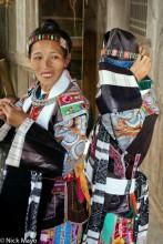 China,Guizhou,Hat,Head Band,Miao,Necklace