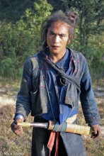 Burma,Eng,Hair,Knife,Shan State