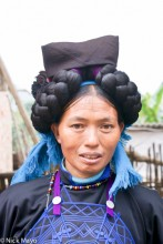 China,Hair Piece,Hani,Yunnan