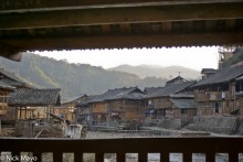 Balcony,China,Guizhou,Residence,Village