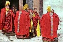 Assembly,China,Hat,Monk,Sichuan,Tibetan