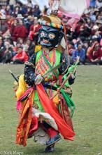 China,Dancing,Festival,Mask,Monk,Sichuan,Tibetan
