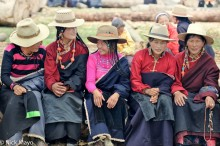 China,Earring,Festival,Hair,Hat,Necklace,Sichuan,Tibetan