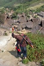 Burma,Eng,Gun,Hunting,Shan State,Thatch,Village