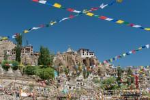 Monastery & Lungta Prayer Flags
