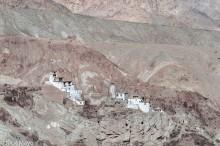 Monastery In A Barren Landscape