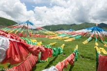 China,Prayer Flag,Qinghai