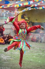 China,Dancing,Festival,Monk,Sichuan,Tibetan