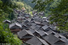 China,Guizhou,Roof,Village