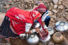 Anklet,Bangle,Bracelet,Fetching Water,Gujarat,Head Scarf,India,Rabari