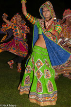 Bracelet,Dancing,Festival,Gujarat,Head Scarf,India,Nose Ring