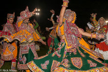 Bracelet,Dancing,Festival,Gujarat,Head Scarf,India