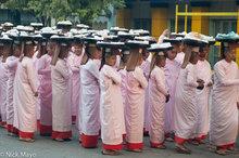 Burma,Mandalay Division,Nun,Pindacara