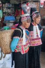 Basket,China,Dai,Market,Yunnan