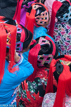 China,Hani,Hat,Wedding,Yunnan