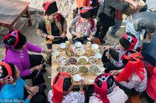 China,Eating,Hani,Hat,Wedding,Yunnan